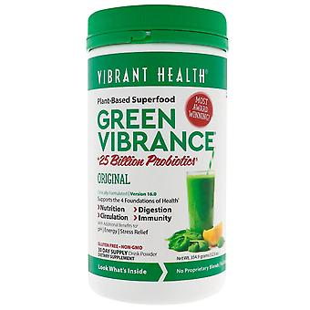 Vibrant Health, Green Vibrance +25 Billion Probiotics, Version 16.0, 12.5 oz (35