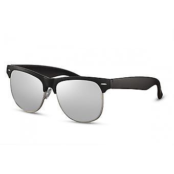 Okulary przeciwsłoneczne Unisex Traveler Cat.3 czarny/srebrny (CWI2530)