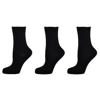 Hommes-apos;s Casual Cotton Over Ankle Plain Socks 6-11 Royaume-Uni