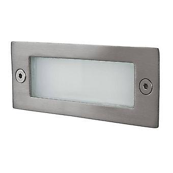 LED 12 pared de luz y luz paso de acero inoxidable IP44
