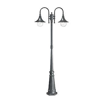 ideell lux cima - utendørs lampe innlegg 2 lys antracite IP43, E27