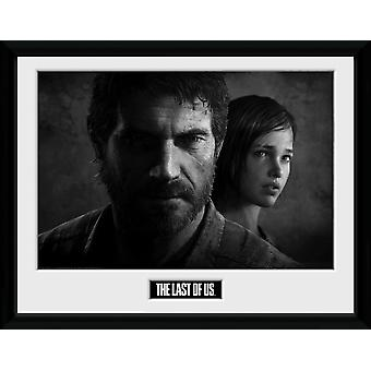 The Last Of Us Black And White Collector Print