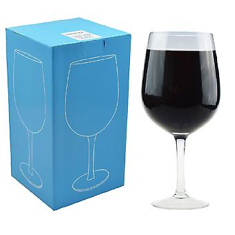Rink Drink Giant Wine Party Glass - Gift Boxed - 750ml (a whole bottle of wine)