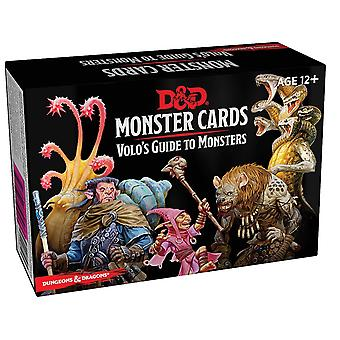 Dungeons & Dragons Spellbook Cards Volo's Guide to Monsters