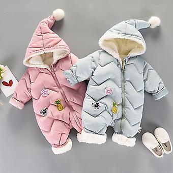 Baby Snow Wear Newborn Snowsuit - Warm Down Cotton Clothes Body