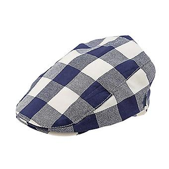 Baby Cotton Linen Handsome Cap Beret Elastic Kids Hat Baby Accessories For 1-2 Years