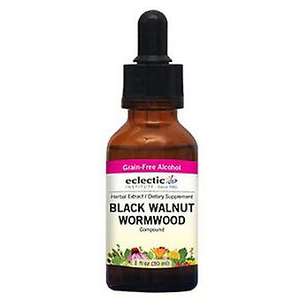 Eclectic Institute Inc Black Walnut - Wormwood, 1 Oz with Alcohol
