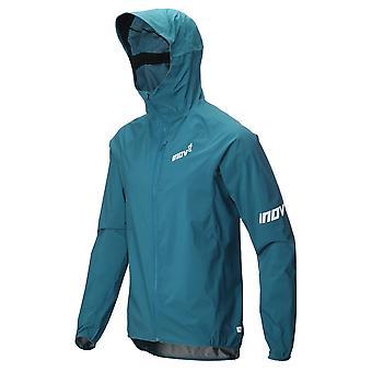 Inov8 At/c Stormshell Full Zip Mens Fully Waterproof Running Jacket Blue