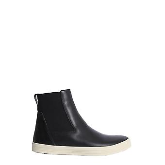 Rick Owens Rp18f4865lhv91 Women's Black Leather Ankle Boots