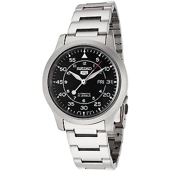 Seiko 5 Gent Watch SNK809K1 - Stainless Steel Gents Automatic Analogue