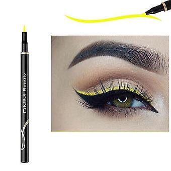 Neon Colorful, Waterproof And Quick Dry Smooth Eyeliner Pen