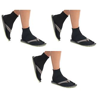 Șosete atletice flip-flop glezna
