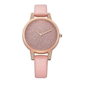 REBIRTH RE018 Rhinestone Élégant Design femmes Wrist Watch Rose Gold Case Quartz
