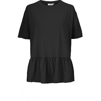 Masai Clothing Bodil Black Jersey Top