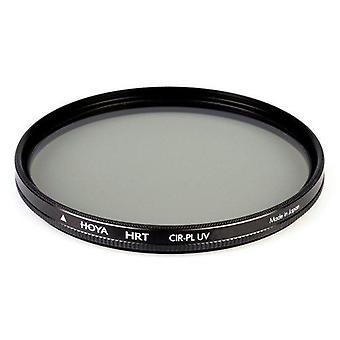 Hoya 77mm circular polarizing and uv hrt screw-in filter 77 mm
