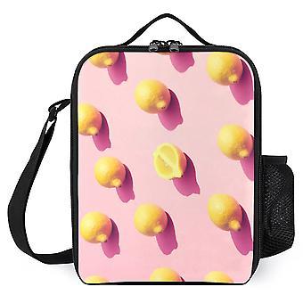 Lemon Printed Lunch Bags