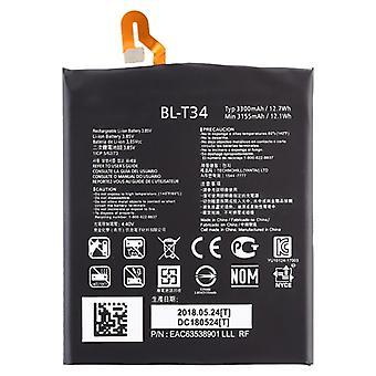 LG V30用3300mAhリポリマーバッテリーBL-T34