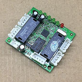 Ethernet Switch 5 Port Pin Head Pcba Board Odm Mini Ethernet Fast Switch Module