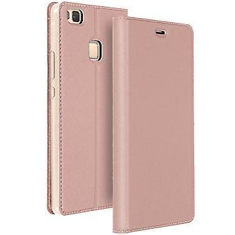 Mayaxess Skin Series Flip case, standing case for Huawei P9 Lite – Pink