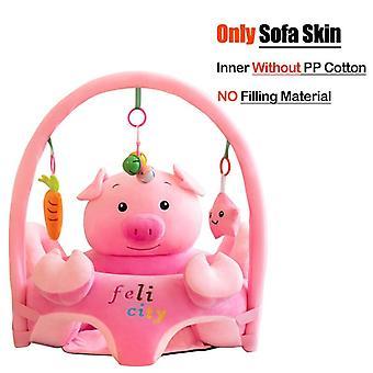 Att lära sig att sitta bekväm småbarn bo puff tvättbar utan filler cradle