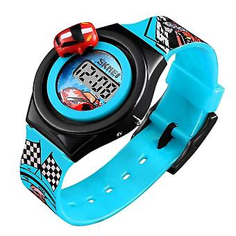 Cartoon Car's Watch-fashion digitális elektronikus kreatív diák óra