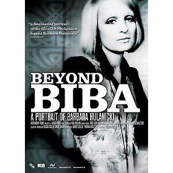 Utover Biba A Portrett av Barbara Hulanicki film plakat (11 x 17)