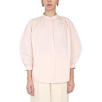 Jil Sander Jsps601206ws442200688 Women's Pink Polyester Shirt