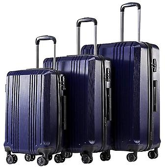 Luggage With Tsa Lock Spinner 20in24in28in Expandable Suitcase
