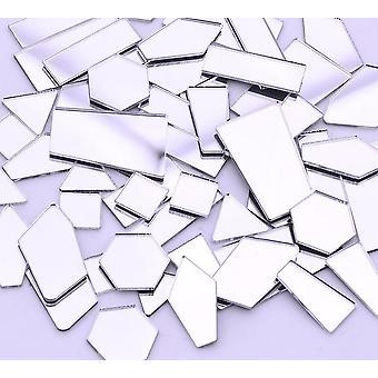 Clear Mirror Silver Crystal