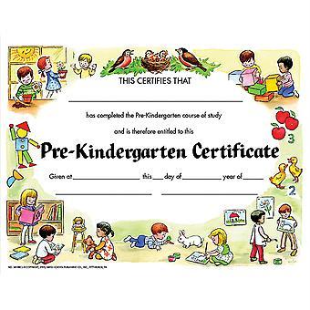 """Pre-Kindergarten Certificate, 8.5"""" X 11"""", Pack Of 30 H-Va199Cl"""