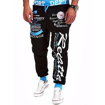 Men's Joggers Hip Hop Cargo Παντελόνι, Casual Εκτύπωση Παντελόνι, Streetwear