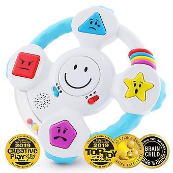 Cel mai bun de învățare spin mea & să învețe volan - interactive educaționale light-up jucării pentru copii mici pentru 6-3