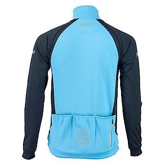 Eigo Levanter Mens Windproof Cycling Jacket Sky Blue / Black