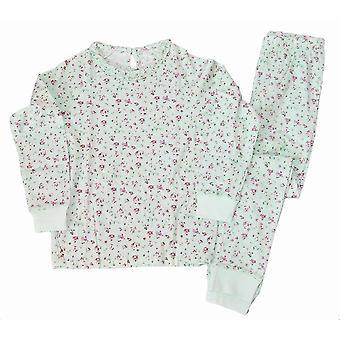 Piżama kwiatowa 122/128 cl