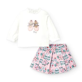Mayoral baby girls skirt set 2971/58