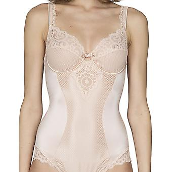 Maison LeJaby 13853-247 Women's Gaby Pink With Lace Body