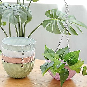 Hanging Basket Plastic Succulents Holder Plant Hanging Pot Mini Portable Planting Container Tools For Indoor Outdoor