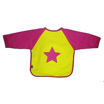 Playgro Bib with Sleeves and Lining Inside