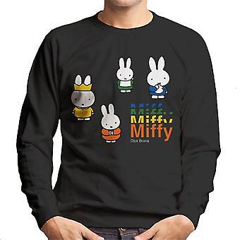 Miffy And The Royal Baby Men's Sweatshirt