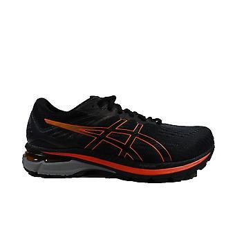 Asics GT-2000 9 G-TX Black/Marigold Orange Mesh Mens Lace Up Running Trainers