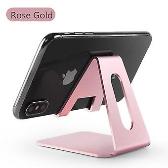 Aluminium Alloy Metal Tablet Stand Universal Holder For Iphone X/8/7/6/5 Plus