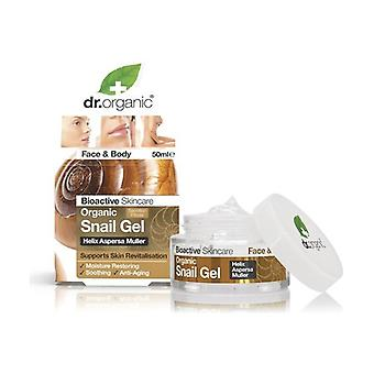 Organic Snail Gel, 50 ml - Bava di lumaca filtrata gel viso 50 ml of gel