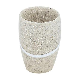 """Tooth glass """"sand"""", polyresin 1 unit"""