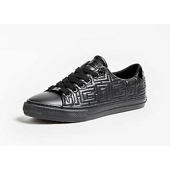 Shoes Women's Sneaker Guess Mod. Goldenn Quilted Faux Leather Black D21gu72