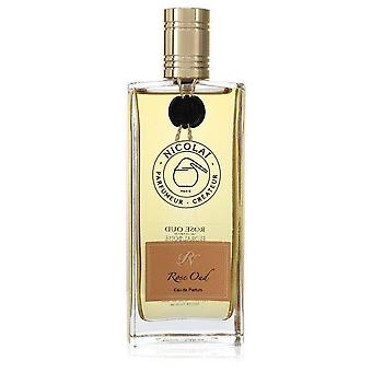 Nicolai Rose Oud Eau De Parfum Spray (Unisex Tester) By Nicolai 3.4 oz Eau De Parfum Spray