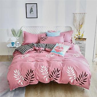 Home Textiles  Bedding Set -  Comforter Duvet Cover Bed Sheet Pillowcase