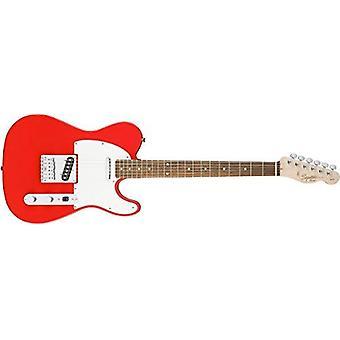 Squier by fender affinity teleocateer beginner electric guitar - rosewood fingerboard, race red
