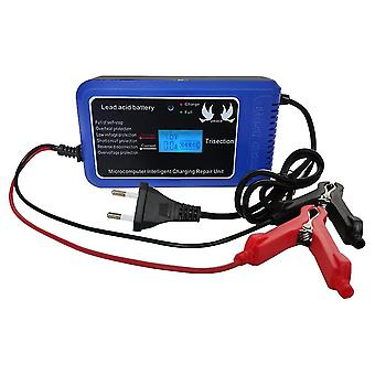 Intelligent pluse repairing charger with led display motorcycle car battery 12v 10a