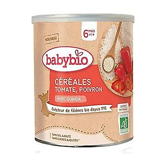 Cereals with Quinoa & Vegetables - Tomato Pepper 220 g of powder