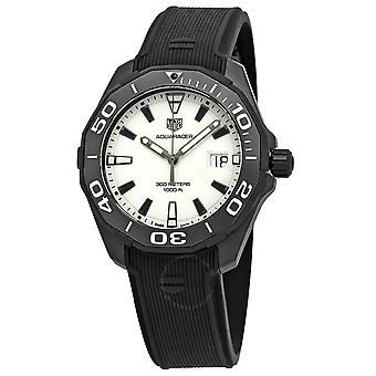 Tag Heuer Aquaracer White Dial Men's Watch WAY108A.FT6141